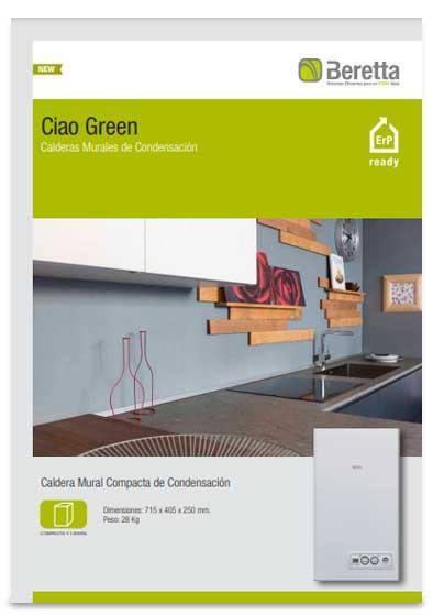 folleto caldera beretta ciao green 25 csi