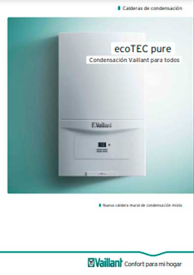 folleto caldera vaillant ecotec pure 236/7-2