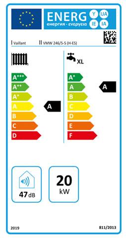etiqueta de eficiencia energetica caldera vaillant ecotec plus vmw 246/5-5
