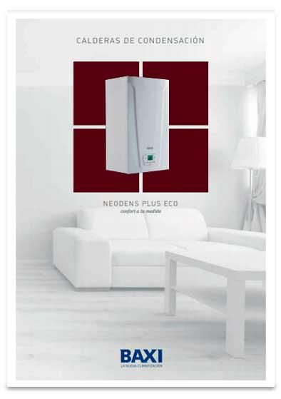 folleto caldera baxi neodens plus 33/33 f eco