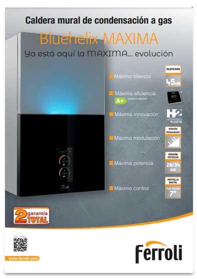 folleto caldera ferroli bluehelix maxima 28 c