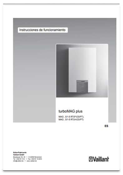 manual usuario calentador vaillant turbomag plus 155/1-5