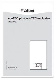 manual usuario vaillant ecotec exclusive smart
