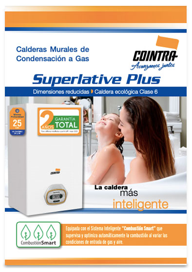 catalogo calderas cointra superlative plus 2020