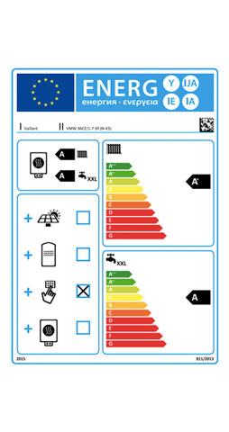 etiqueta de eficiencia energetica caldera vaillant ecotec exclusive vmw 36 cf/1-7 ci sensocomfort radio