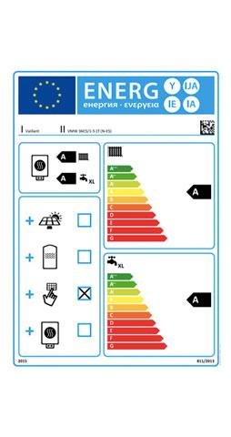 etiqueta de eficiencia energetica caldera vaillant ecotec plus vmw 36 cs/1-5 c sensohome radio