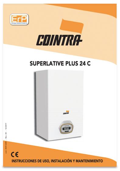 manual instrucciones caldera cointra superlative plus 24 c
