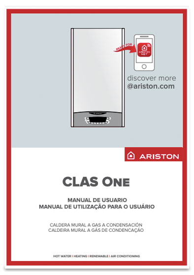 manual usuario calderas ariston clas one