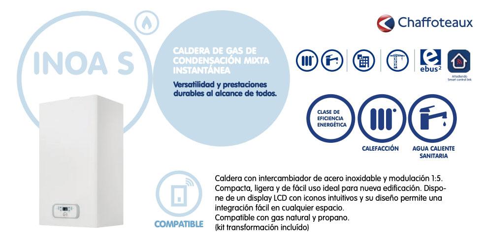 caldera de gas chaffoteaux inoa s 24